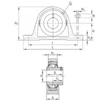INA RAKY2-15/16 bearing units