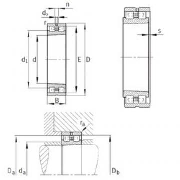 INA NN3080-AS-K-M-SP cylindrical roller bearings