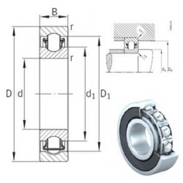 INA BXRE005-2RSR needle roller bearings