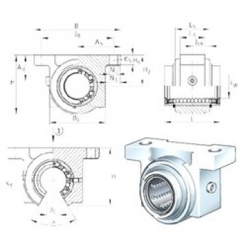 INA KGBO16-PP-AS bearing units
