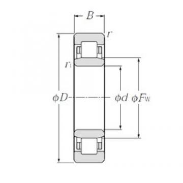 CYSD NU2326 cylindrical roller bearings